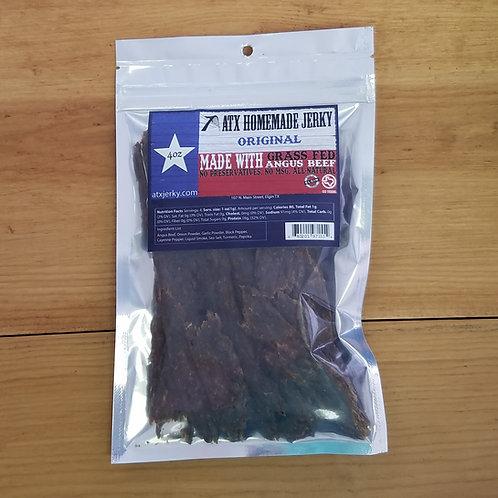 Original Beef Jerky, ATX Jerky, 4 oz size