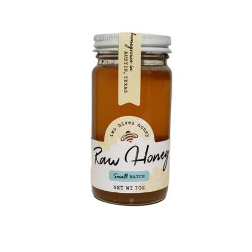 Two Hives Honey, raw honey, Texas honey