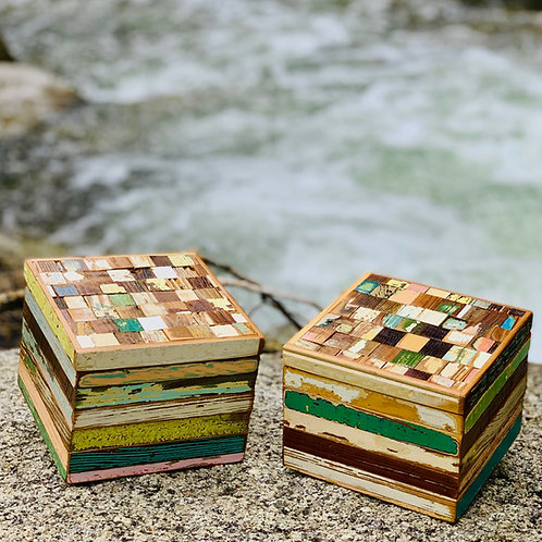 Bergeron Woodworks Mosaic Box