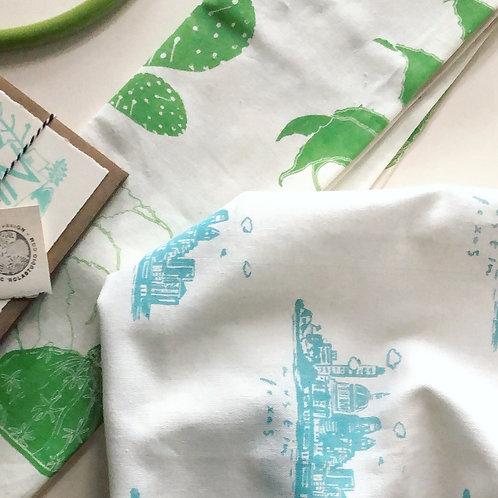 Victrola Studio Austin Skyline Tea Towel Set