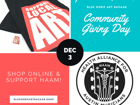 Community Giving Day for HAAM: 12/3
