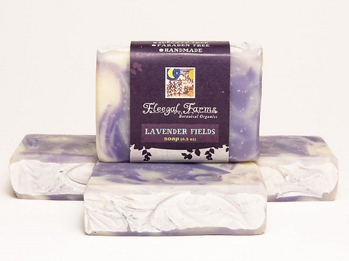 Soap Bar, Fleegal Farms, Lavender Fields, natural soap, body care gift