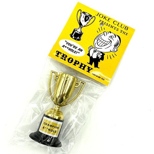 Joke Club a-hole trophy gag gift