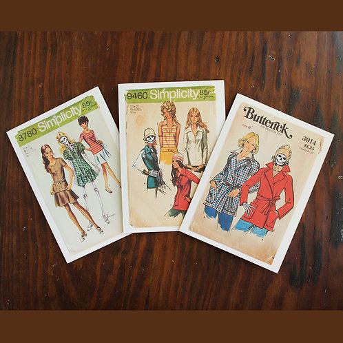The Wonderful Adventure 70s Ladies Pattern Card
