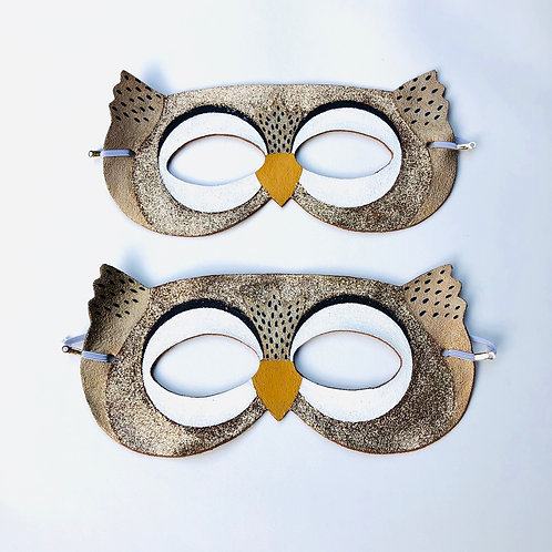 Big Imagination Design Owl Mask for children and adults, play mask