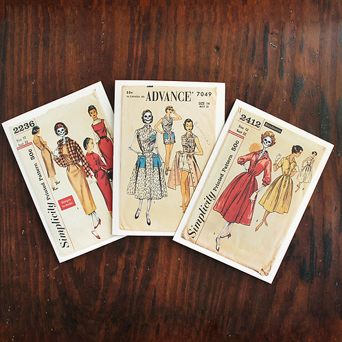 The Wonderful Adventure 50s Ladies Pattern Card