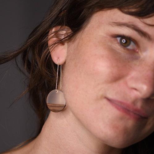 BDJ Long Rounder Earrings