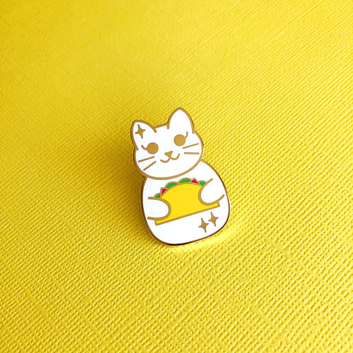 i.heart.avocado Taco Cat Pin
