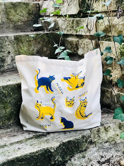 Victrola Studios Cats Tote Bag