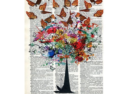 Smitten Designs Butterfly Tree Dictionary