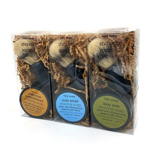 Shaving Soap Set, Feto Soap