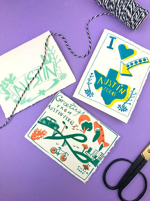 Victrola Studio Austin Greeting Card Set