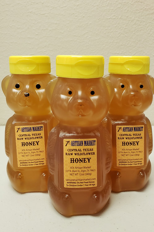 wildflower Honey Bear, ATX Artisan Market