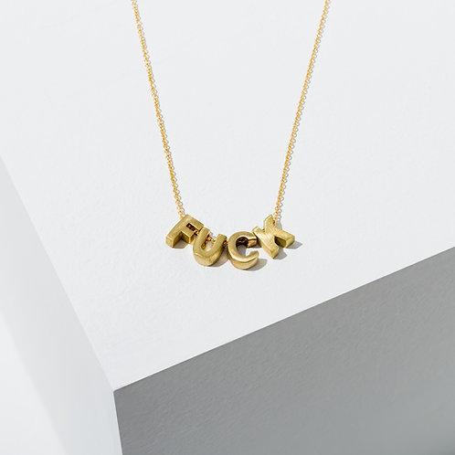 Larissa Loden F*ck Necklace