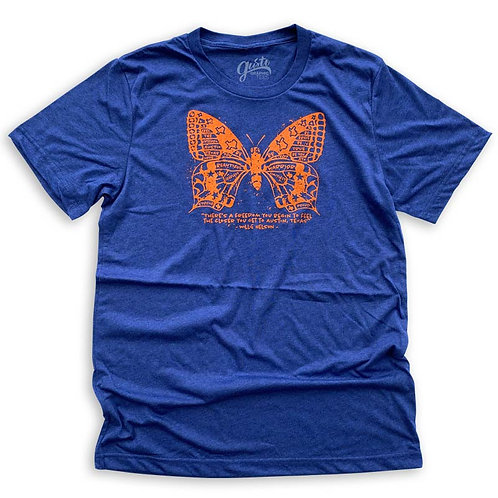 Gusto Graphic Tees Butterfly ATX T-Shirt