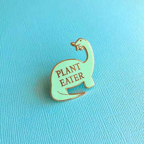 i.heart.avocado Plant Eater Dinosaur Pin