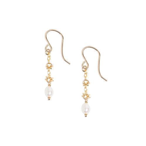 Kate Winternitz Jewelry Landon Pearl Earrings