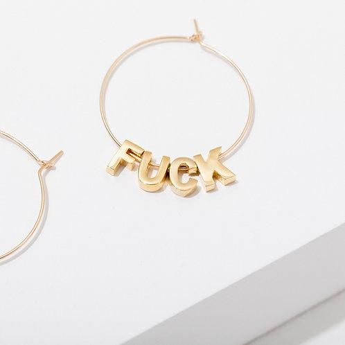 Larissa Loden F*ck Earrings