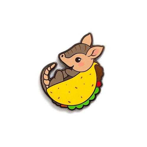 LuxCups Creative Tacodillo Pin