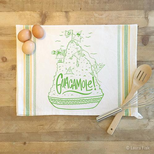 Guacamole towel, fisk and fern