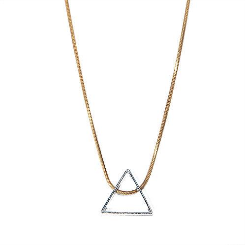 Simply Tri Necklace, Rebekah Vinyard, jewelry