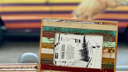 Striped Frame | Bergeron Woodworks