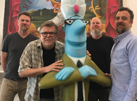 The History of the Blue Genie Art Bazaar