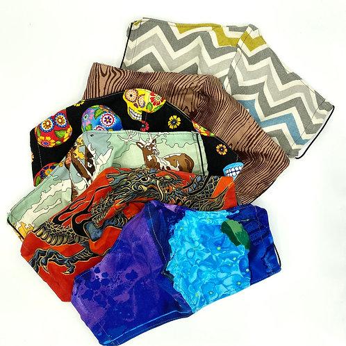 Cloth Face Mask, JNA Designs, medium mask, face mask
