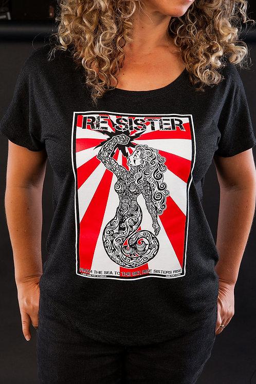 ReSister! T-Shirt, Nailivic Studios, resist t-shirt, graphic t-shirt