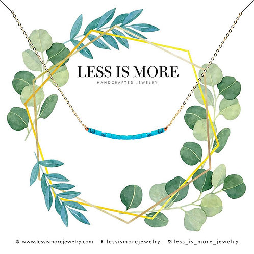Less is More Smile Necklace