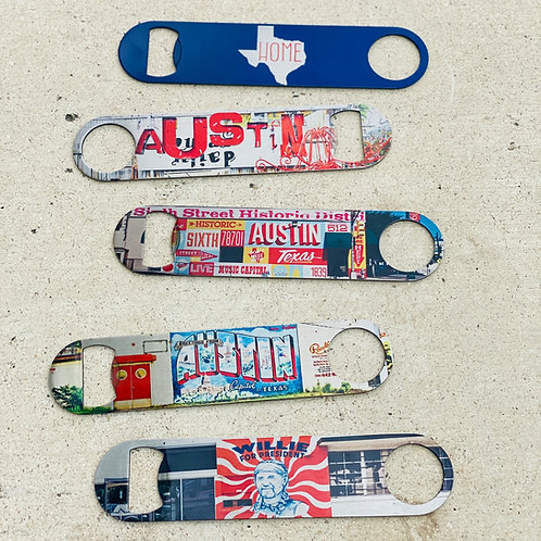 South Austin Gallery Bottle Opener
