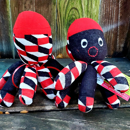 MOnkey Business, socktopus, sock toy octopus