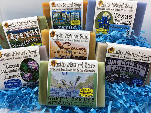 Austin Natural Soap Big Bar