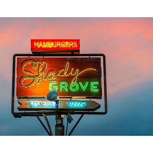 Slow Fuse Photography Shady Grove Print