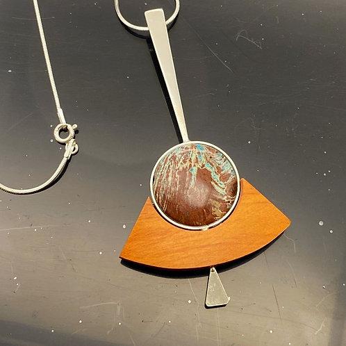 Kepiaa waterdrop ancla necklace