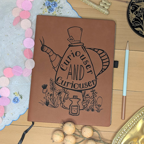 Pigsey Art  Curiouser & Curiouser Journal