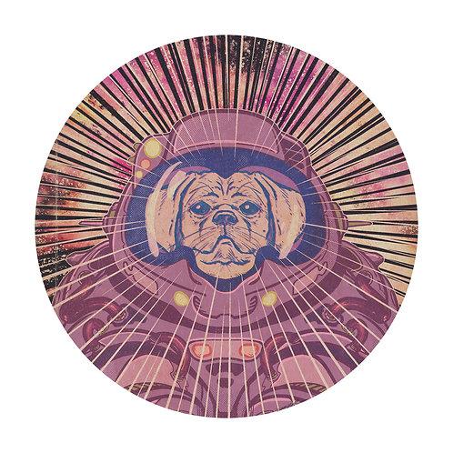 Todd Kale Space Dog Print