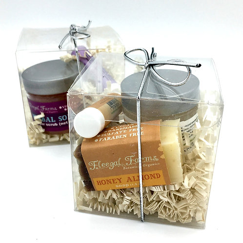Fleegal Farms Sugar Scrub Gift Set