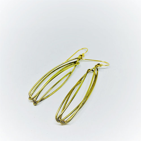 Studio Forged Art Deco Demi Earrings