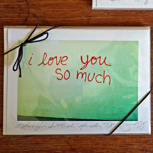 Ann Woodall Studios Love You So Much Greeting Card Set