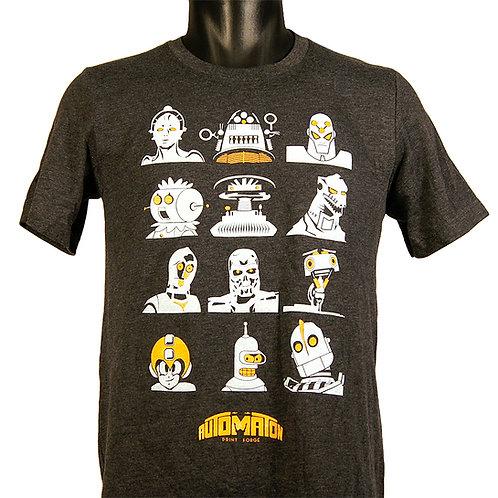 Automatons t-shirt, Hammerknife Press