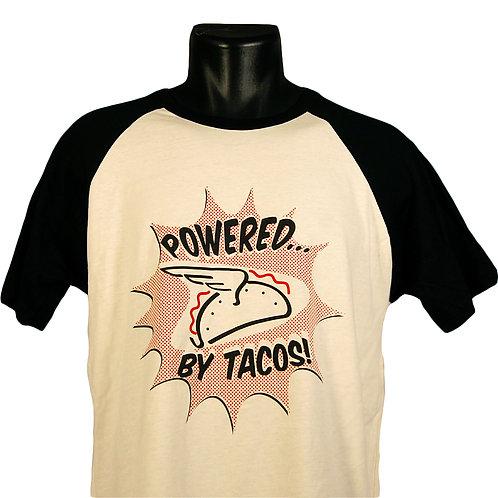 Powered by Tacos t-shirt, Hammerknife Press