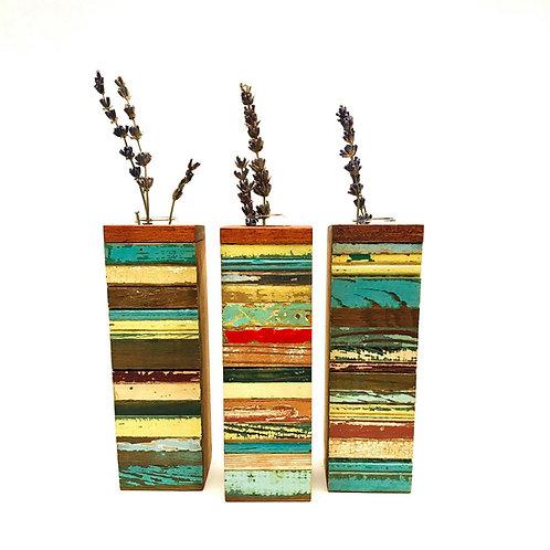 Bergeron Woodworks Splice Vase