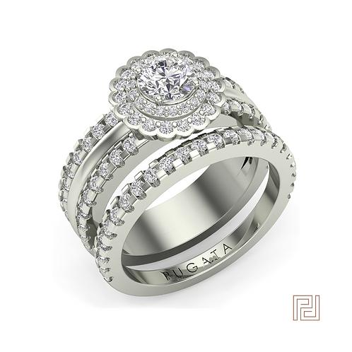Platinum Lara Ring