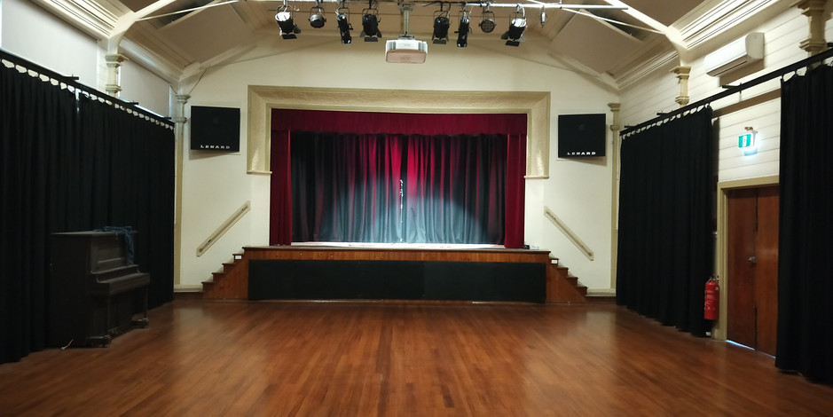 Birregurra Hall Stage