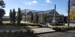 Birregurra Hall - outdoor area