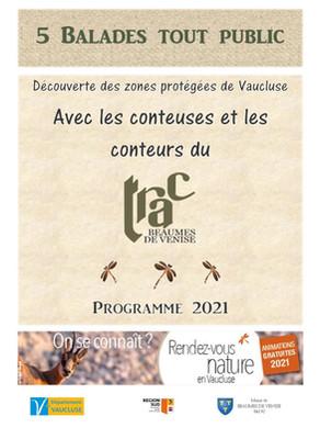 Balades contées dans les Espaces Naturels Sensibles du Vaucluse avec les conteurs du TRAC