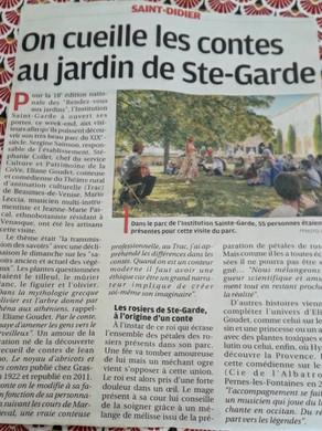 """On parle des """"Plantes bienfaisantes"""" dans La Provence"""