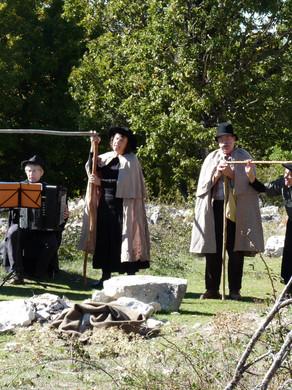 """Retour en photo sur la balade """"Giono et les bergers"""" du 17 octobre"""