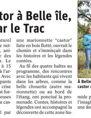 On parle des conteurs du Trac à Belle Île